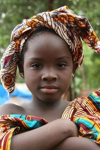 Girl in Bamako: Image source.