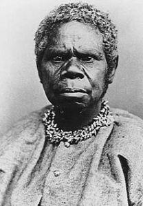 Truganini (c. 1812 – 8 May 1876) the last Tasmanian Aboriginal.  Image source.